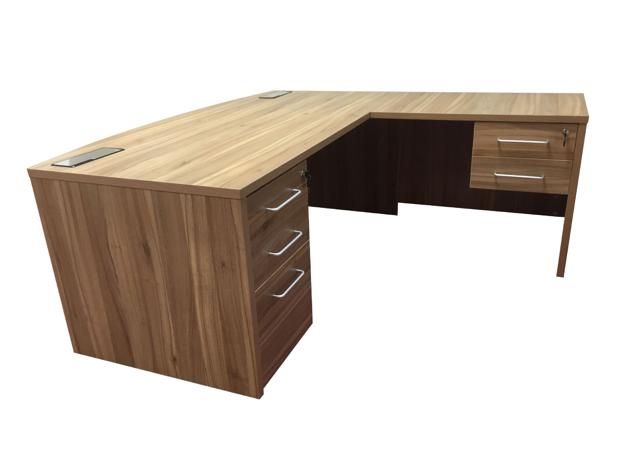 Desk With Return : New executive desk with return unit managers